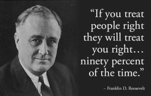 Frankiln D. Roosevelt
