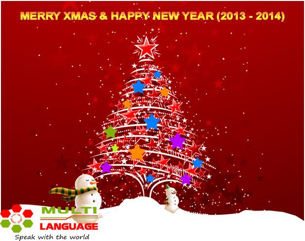 Chúc quý học viên một mùa giáng sinh, năm mới tốt lành