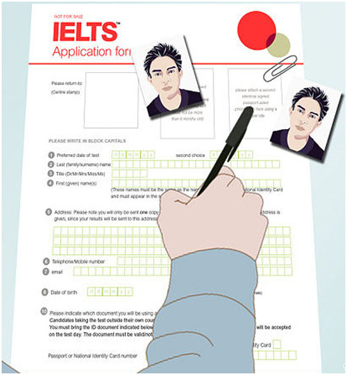 Các bước đăng ký dự thi IELTS