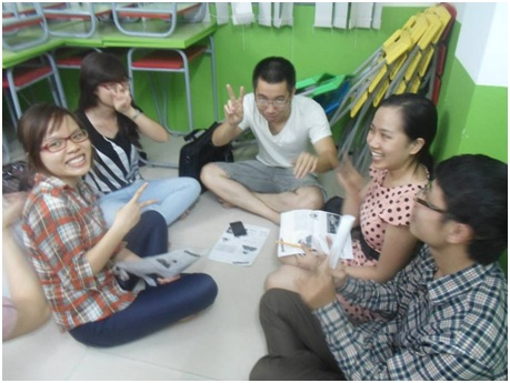 Buổi sinh hoạt CLB tiếng Anh Galec tại Multi Languag ngày 31/7/2014 với chủ đề STRESS