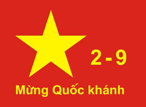 Thông báo nghỉ tết Quốc Khánh 02 -09 - 2014