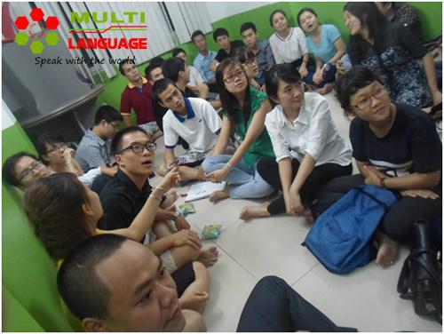 Buổi sinh hoạt CLB Tiếng Anh ngày 21/8/2014