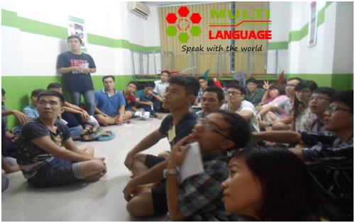 Buổi sinh hoạt CLB Tiếng Anh ngày 18/09/2014