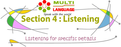 Bài thi IELTS Listening: Tips for section 4