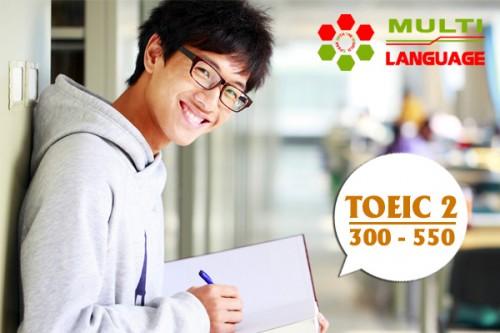 Khoá học TOEIC 2 ( mục tiêu 300 -> 550 )
