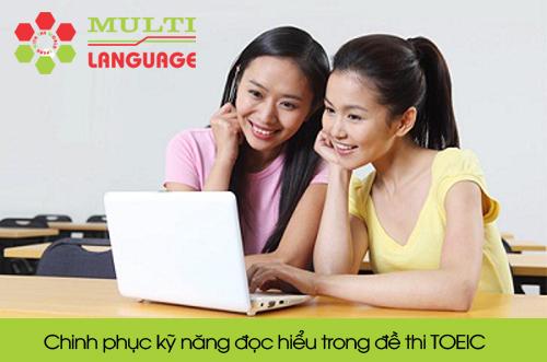 Chinh phục kỹ năng đọc hiểu trong đề thi TOEIC