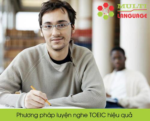 Phương pháp luyện nghe TOEIC hiệu quả