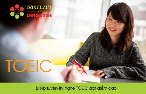 Bí kíp luyện thi nghe TOEIC đạt điểm cao