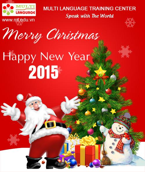Thông báo nghỉ tết dương lịch 2015