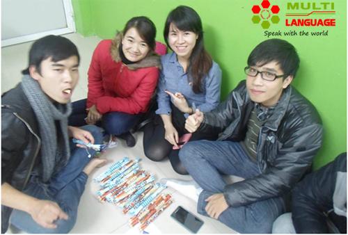Buổi sinh hoạt CLB Tiếng Anh ngày 18/12/2014