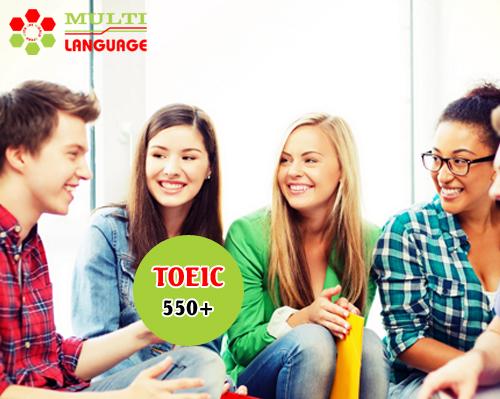 Khai giảng khóa học TOEIC mục tiêu 550+