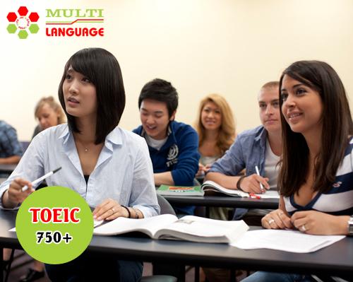 Khai giảng khóa học TOEIC mục tiêu 750+