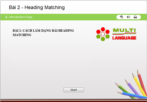 IELTS Reading - Dạng bài Heading Matching