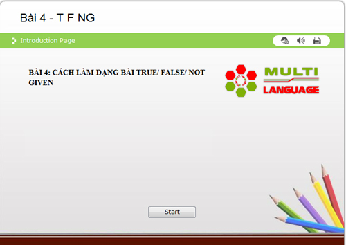 IELTS Reading - Dạng bài True/False/Not given