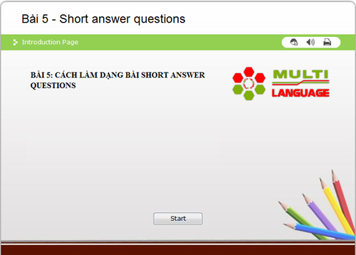 IELTS Reading – Dạng bài Short Answer Questions