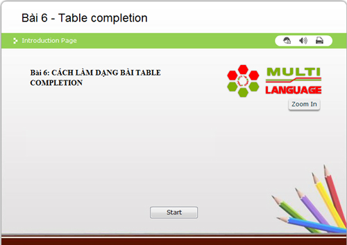 IELTS Reading – Dạng bài Table Completion